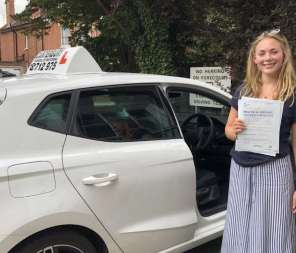 Juliette passed first time
